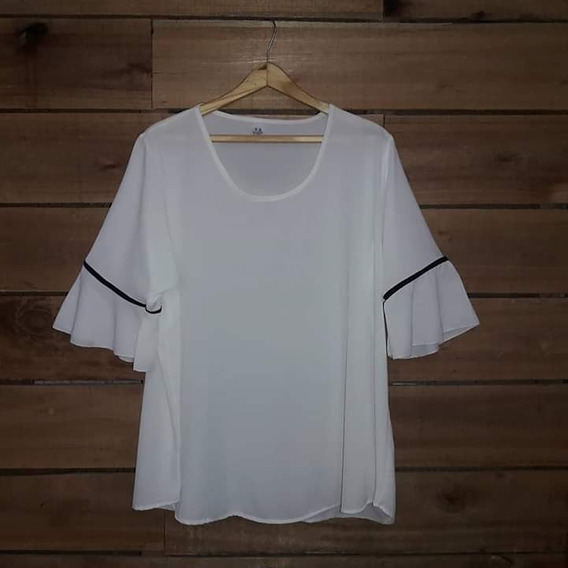 37f3d33d40df Remeras Vestir Mujer - Ropa y Accesorios Blanco en Mercado Libre ...