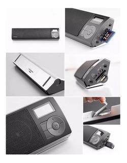 Parlante Edifier Mp18 Portatil 2.8w Potencia Radio Fm Usb Sd