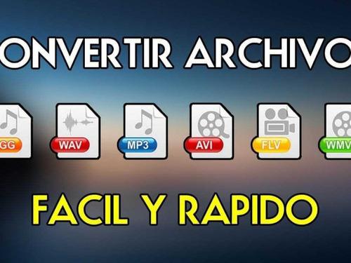Descargar Y Convertir Vídeo A Avi, Mp4, Wmv, Mov, Mpg