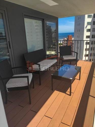 Apartamento En Venta Y Alquiler Temporal En Brava - Punta Del Este- Piso Alto- Ref: 26867