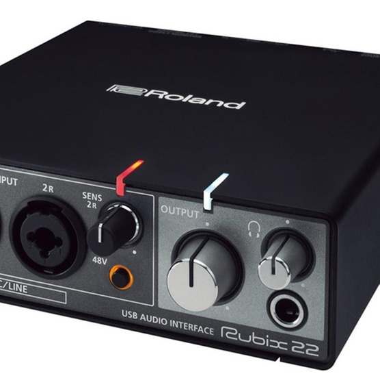 Interface De Audio Roland Rubix22 Mac Pc/iPad Usb- Promoção!