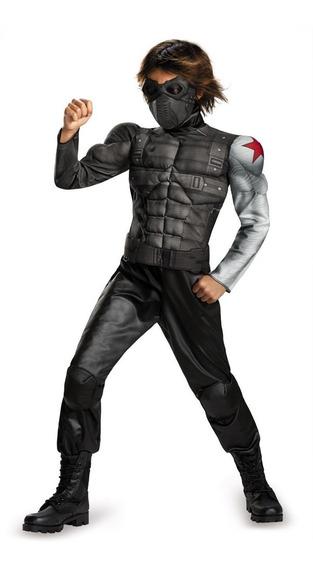 Winter Soldier Mask Disfraces Ninos - Recuerdos, Cotillón y