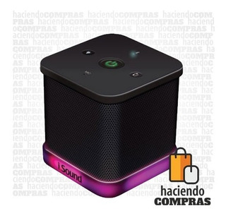 Parlante Bluetooth Isound Iglowsound Cube | Haciendocompras