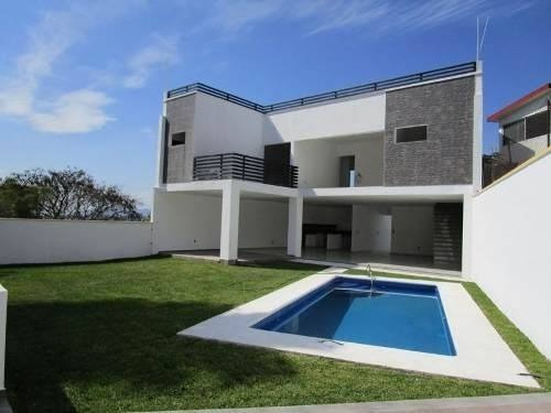 Casa Minimalista Nueva En Brisas De Cuernavaca