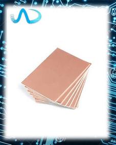 Placa De Fenolite Cobreado 10 X 15 Cm Pcb