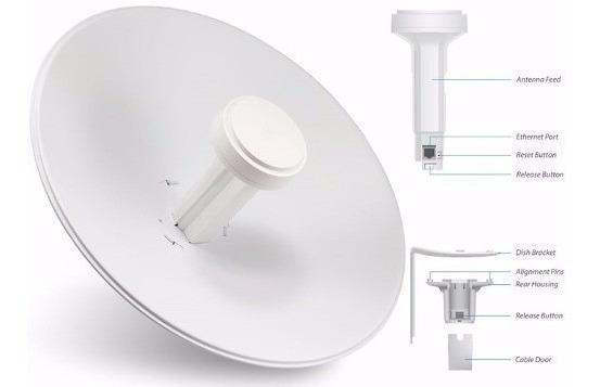 2 Antena Ubiquiti Powerbeam Nbe-m5-400 5ghz 25dbi Dp