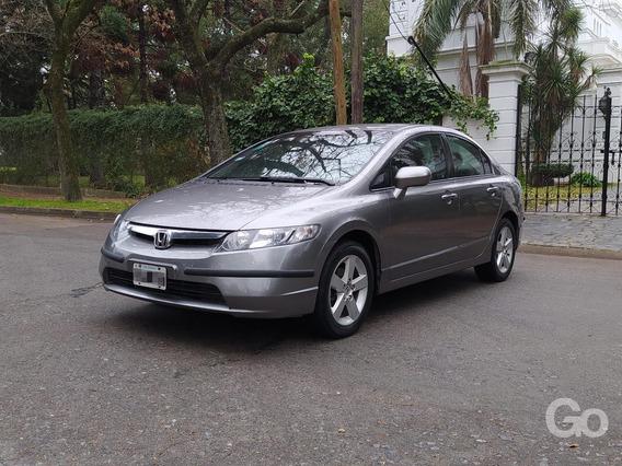 Honda Civic Lxs 4ptas 2007 Excelente