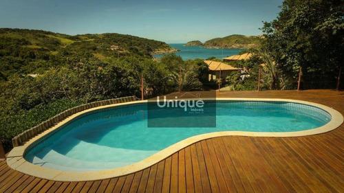 Casa Com 6 Dormitórios À Venda, 260 M² Por R$ 3.550.000,00 - Praia Do Forno - Armação Dos Búzios/rj - Ca1229