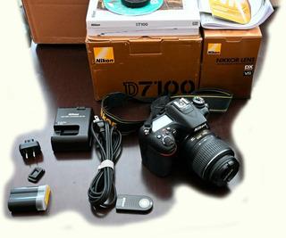 Nikon D7100 Con Lente 18-55 Excelentes Condiciones