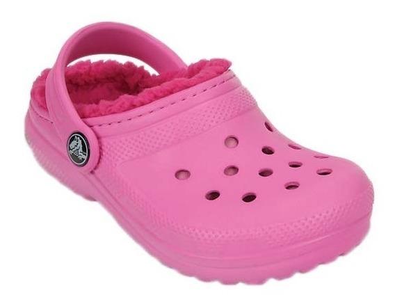 Crocs Classic Kids Con Abrigo Lined Clog K Party Pink /cand