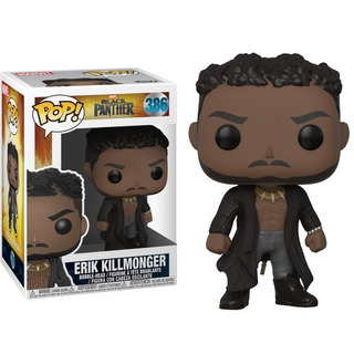 Funko Pop! Erik Killmonger 386 - Black Panther Muñeco