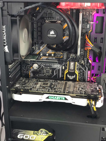 Intel I7 8700k 16gb Ssd500gb 1080ti Gamer Asus Rgb Corsair