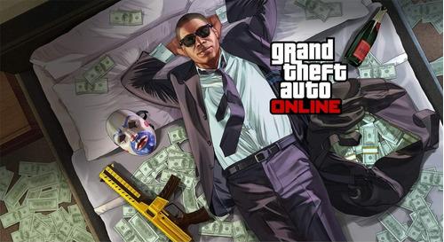 Up Gta 5 Online Pc 300 Milhoes De Money E Nivel Steam Social Mercado Livre