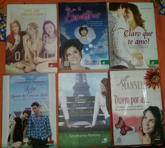 Kit Livros: Lola E O Beijo Francês + 5 Romances (6 Livros)