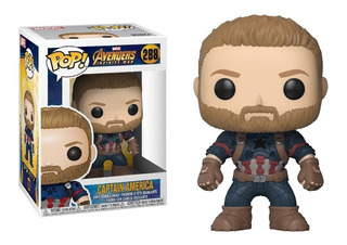 Funko Pop! Marvel #288 Infinity War Captain America Nortoys