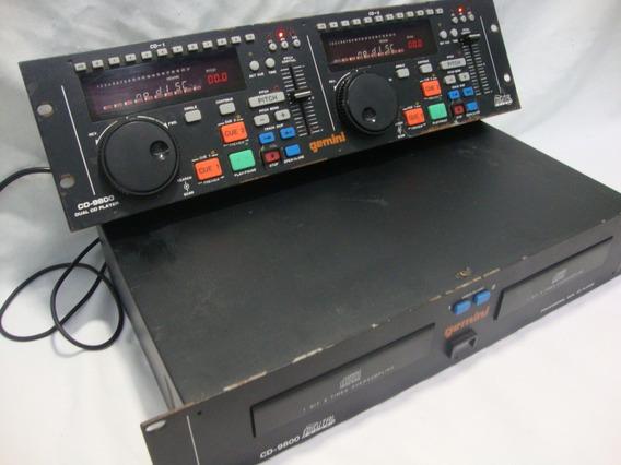 Antigo Cdj Gemini Cd 9800 Dual Cd - *** Leia Descrição**