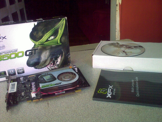 Tarjeta De Video Xfx Geforce 8500 Gt - 1 Gb (25$)