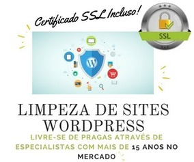 Limpeza De Sites Wordpress - Limpeza De Vírus + Ssl