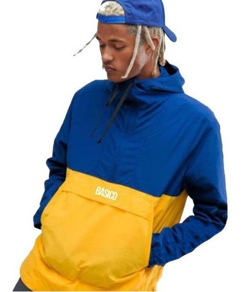 Chaquetas De Caballero Basico Clothing Impermeables Azul