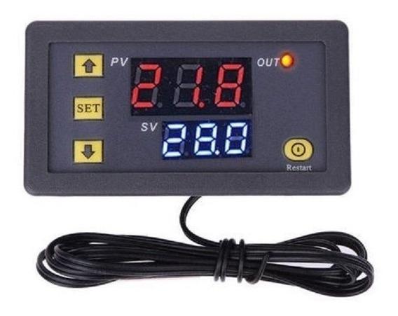 Termostato Digital Programable W3230 / -55 A 120°c - 12v Dc