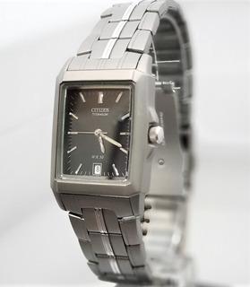 Reloj Citizen Titanium Bk078053f Hombre Agente Oficial