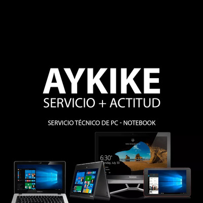 Servicio Técnico Reparacion Pc Notebook Netbook All In One