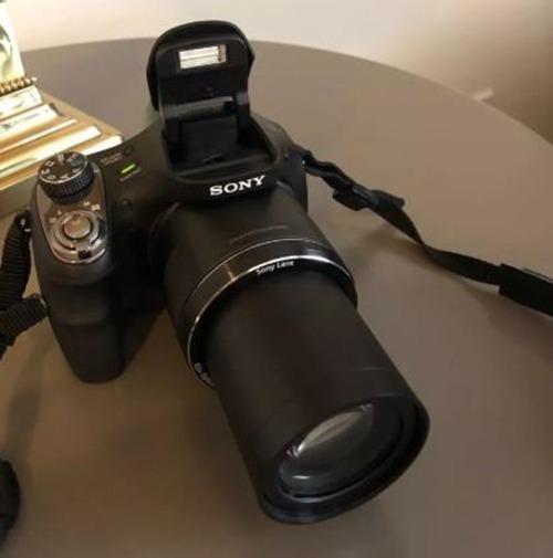 Sony Dsc H-400 +funda +memoria Kingston +trípode. $charlable