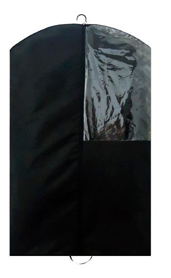 Kit 10 Capas Para Terno Com Zíper, Visor - Alta Qualidade
