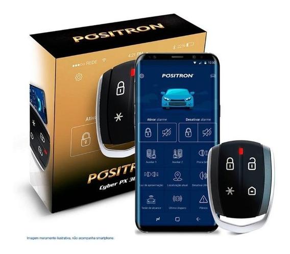 Alarme Automotivo Pósitron Cyber Px 360bt Bluetooth Presença