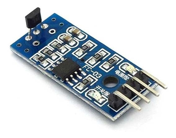Módulo Sensor De Efeito Hall 3144e Velocidade Arduino E Pic
