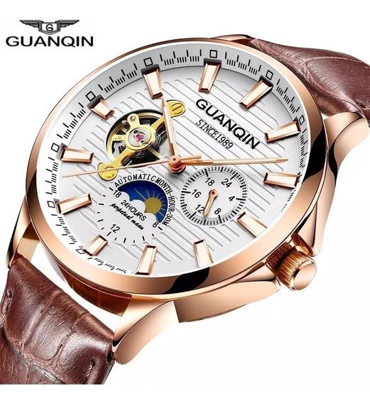 Reloj Mecanico Automatico Guanqin Calidad Original