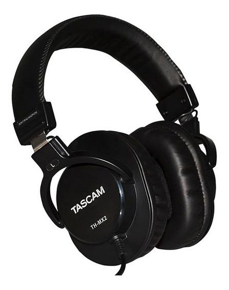 Fone De Ouvido Tascam Th-mx2 Mixing Headphones Studio Th Mx2