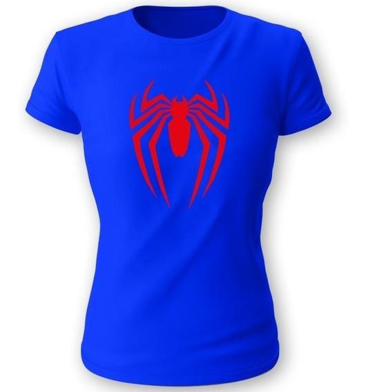 Playera Koyi 602 Spider-man Talla S M L Xl Dama
