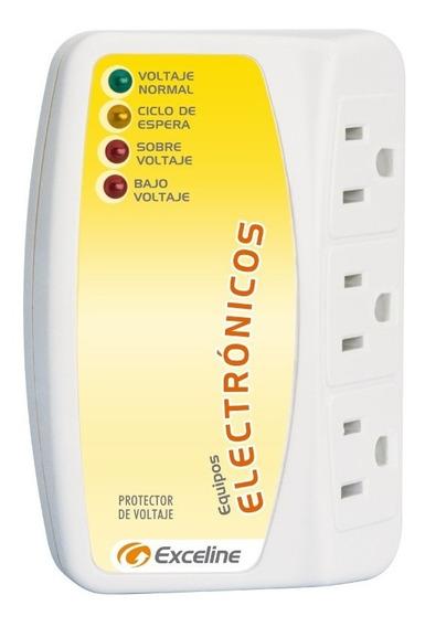 Protector De Voltaje Exceline Para Equipos Electronicos 120v