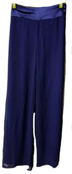 Pantalon Gasa Forrado Combinado Con Raso T 3