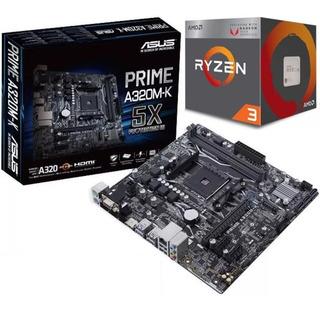 Combo Board Asus A320 Ryzen 3 2200g Radeon Vega 8 Pc