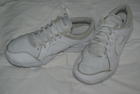 Zapatillas Nike - Cuero Blancas -originales - 40