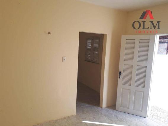 Casa Com 1 Dormitório Para Alugar, 49 M² Por R$ 650,00/mês - Aerolândia - Fortaleza/ce - Ca0115