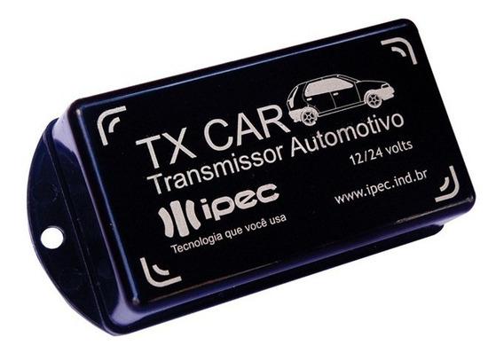 Tx Car 433,9mhz 12/24v Controle Portão Automático Luz Alta