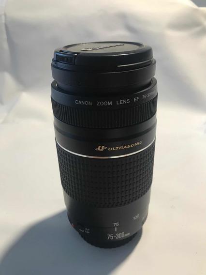 Lente Canon Ef 75-300mm. F/4-5.6 Iii Usm