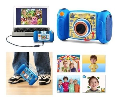 Camara Fotografica Vtech Kidizoom Para Niños Azul Xtr C
