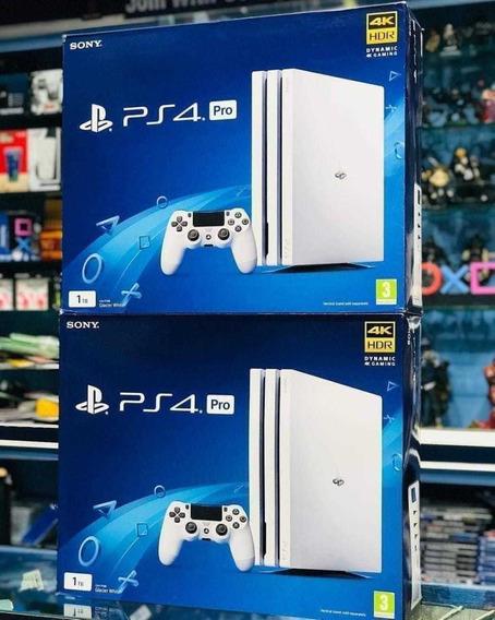 Consola Ps4 Pro 1tb. Nueva+2 Controles+2juego.garantía 1 Año