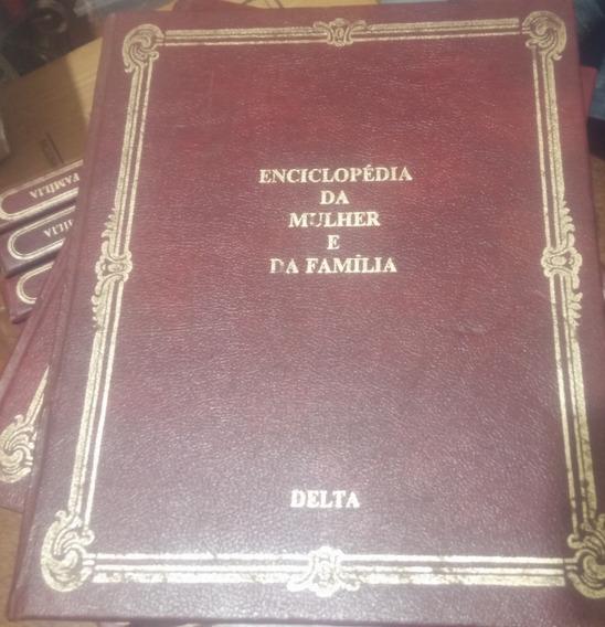 Enciclopedia Da Mulher E Da Família Delta Volumes 11