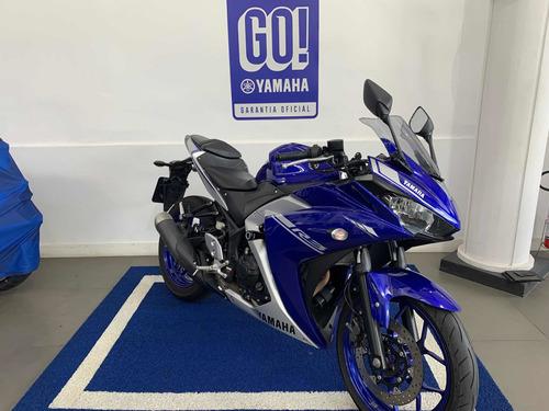 Yamaha Yzf-r3 Azul 2018 Usada