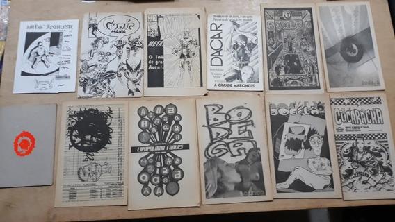 Coleção Fanzines Anos 90 E 2000 Raros Cultura Alternativa