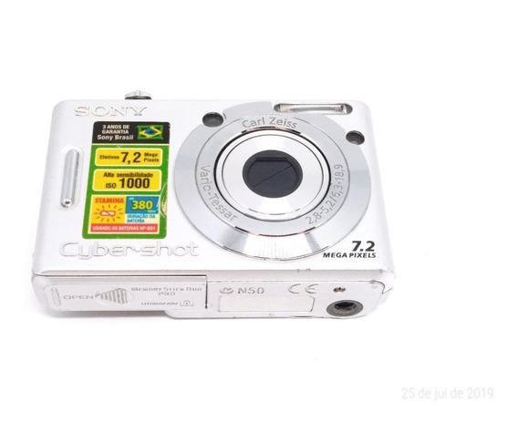 Máquina Fotográfica Sony Filmadora Antiga Cyber-shot