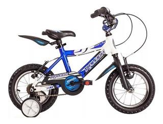 Bicicleta Raleigh Rodado 12 Aluminio Varon Envios Gratis !!!