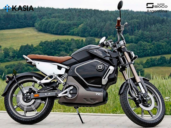 Moto Electrica Super Soco Tc Bateria LG Version Original