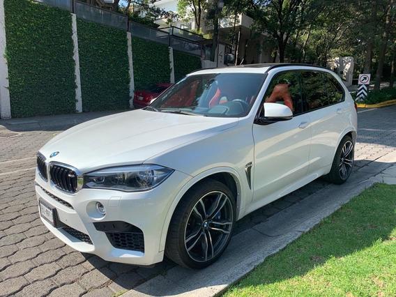 X5 2018 Version M Blanca En Piel Rojo