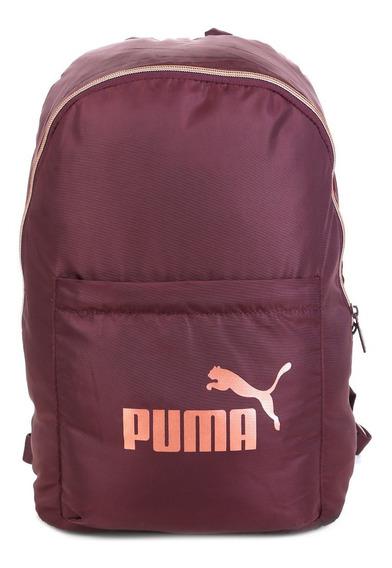 Mochila Puma Core Seasonal - Vinho